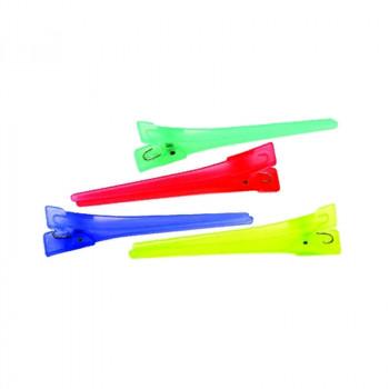 Зажим средний, пластик, 6 см (12 шт.) DEWAL
