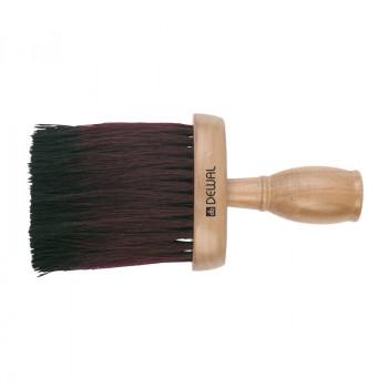 Кисть-сметка DEWAL, плоская, ручка-дерево, натуральная бычья щетина