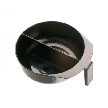 Чаша для окрашивания с ручкой и перегородкой 2 х 375 мл DEWAL