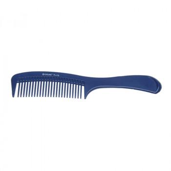 Расческа с ручкой синяя DEWAL BEAUTY