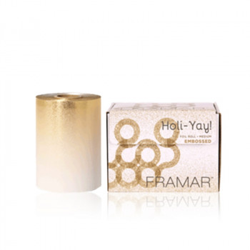 Framar Embossed Roll Medium Holi-Yay 2020