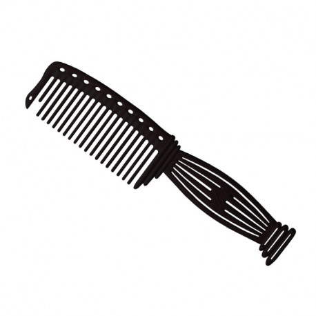 Парикмахерская расческа Y.S.Park YS-606-01черная