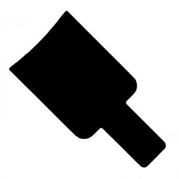 ЛОПАТКА SIBEL ДЛЯ ОКРАШИВАНИЯ (черная)