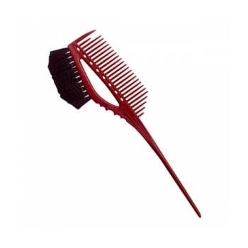 0571-75-640-08 YS 640 RED Кисть-расческа комбинированная