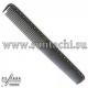 Расческа для стрижки многофункциональная комбинированная 21,5 см графит