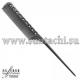 Парикмахерская расческа Y.S.Park YS-115-01 черная