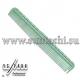 Расческа для стрижки многофункциональная с рельефным обушком 18,5 см зеленая