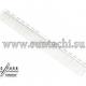 Парикмахерская расческа Y.S.Park YS-339-05 белая
