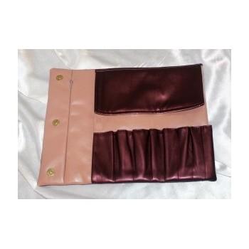 Чехол Ludovik для макияжных кистей маленький розовый