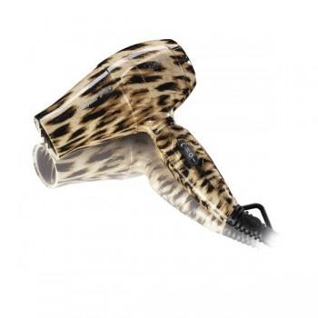 Фен профессиональный BaByliss PRO BamBino леопардовый принт 1200ВТ, 1 сопло, 1 диффузор BAB5510LPE