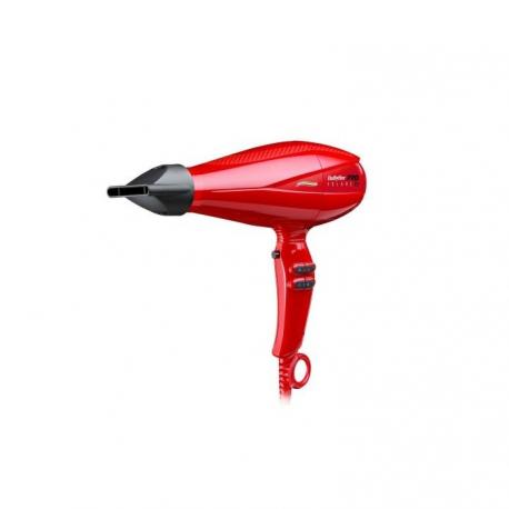 BaByliss PRO Volare V2 Красный фен с мотором FERRARI BABV2RE