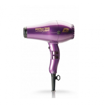 Фен профессиональный Parlux 385 Ceramic+Ionic фиолетовый, 2150ВТ, для объема длинных волос