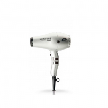 Фен профессиональный Parlux 385 Ceramic+Ionic серебряный, 2150ВТ, мотор с балансировкой