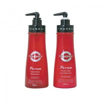 Кондиционер для окрашенных волос Touravi Purum / Турави Пурум Vivid Hair Conditioner, 1000мл