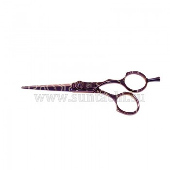 Прямые ножницы 13s-55 Purple lines