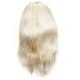 ГОЛОВА- МАНЕКЕН УЧЕБНАЯ (Блондинка гофрированная). Длинна волос 70-80 см