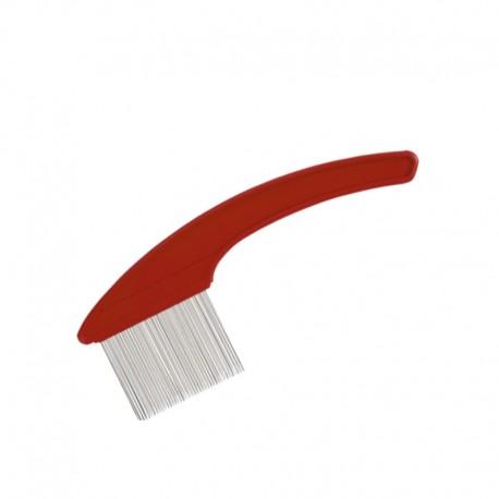 Чистка для расчесок,красная