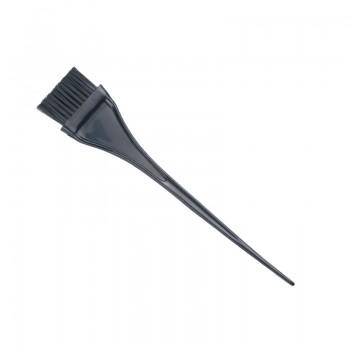 Кисть для окрашивания Dewal, черная, с черной прямой щетиной, узкая 40мм