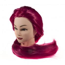 Голова-манекен учебная, 100% протеиновые волосы, 70-75 см