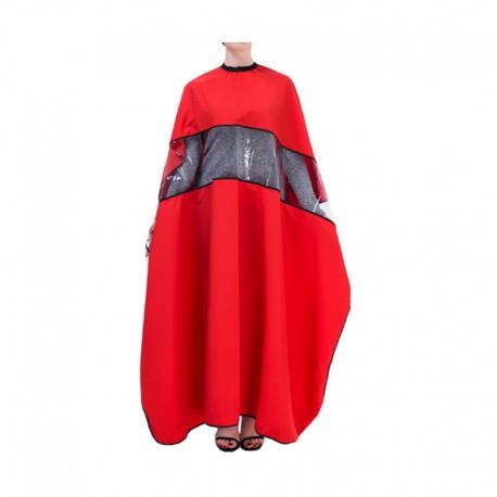 Пеньюар красный с окошком 45699