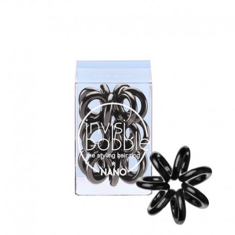 Резинка для волос Invisibobble NANO True Black (3 шт.)