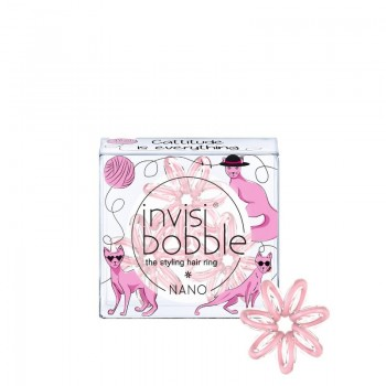 Резинка для волос Invisibobble NANO Cattitude Is Everything! (3 шт.)