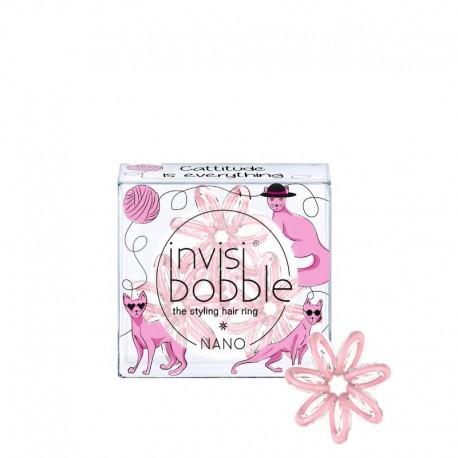 Резинка для волос Invisibobble NANO Cattitude Is Everything! (3 шт.)