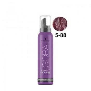 Igora Expert Mousse Тонирующий мусс для волос 5-88 Светлый коричневый красный экстра 100мл