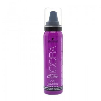 Igora Expert Mousse Тонирующий мусс для волос 7-5 Средний русый золотистый 100мл