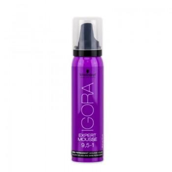 Igora Expert Mousse Тонирующий мусс для волос 9,5-1 Светлый блондин пастельный сандрэ 100мл