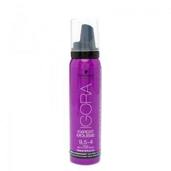 Igora Expert Mousse Тонирующий мусс для волос 9,5-4 Светлый блондин пастельный бежевый 100мл