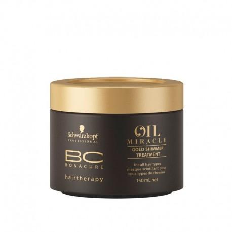 Schwarzkopf Professional BC Oil Miracle Маска Золотое Сияние с Аргановым маслом 150 мл