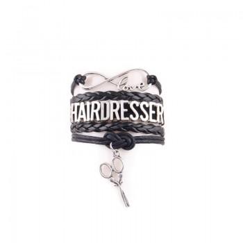 Браслет для стилиста, черный Hairdresser